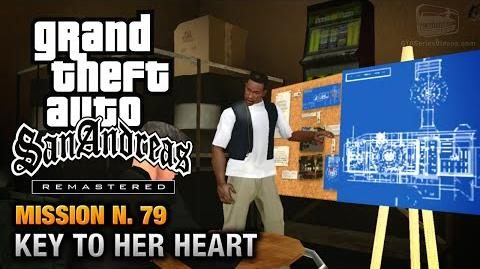 GTA San Andreas Remastered - Mission 79 - Key to her Heart (Xbox 360 PS3)