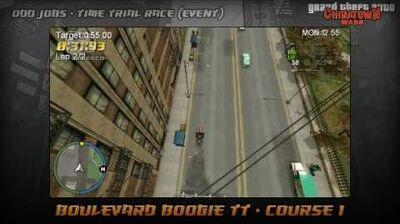 GTA Chinatown Wars - Walkthrough - Time Trial Race - Boulevard Boogie TT - Course 1