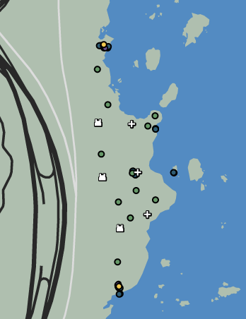 Going Coastal Raid GTAO Map