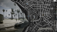 Vehicle Import Detective GTAO Vespucci Beach Map