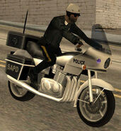 Motor officer (GTASA) (mounted)