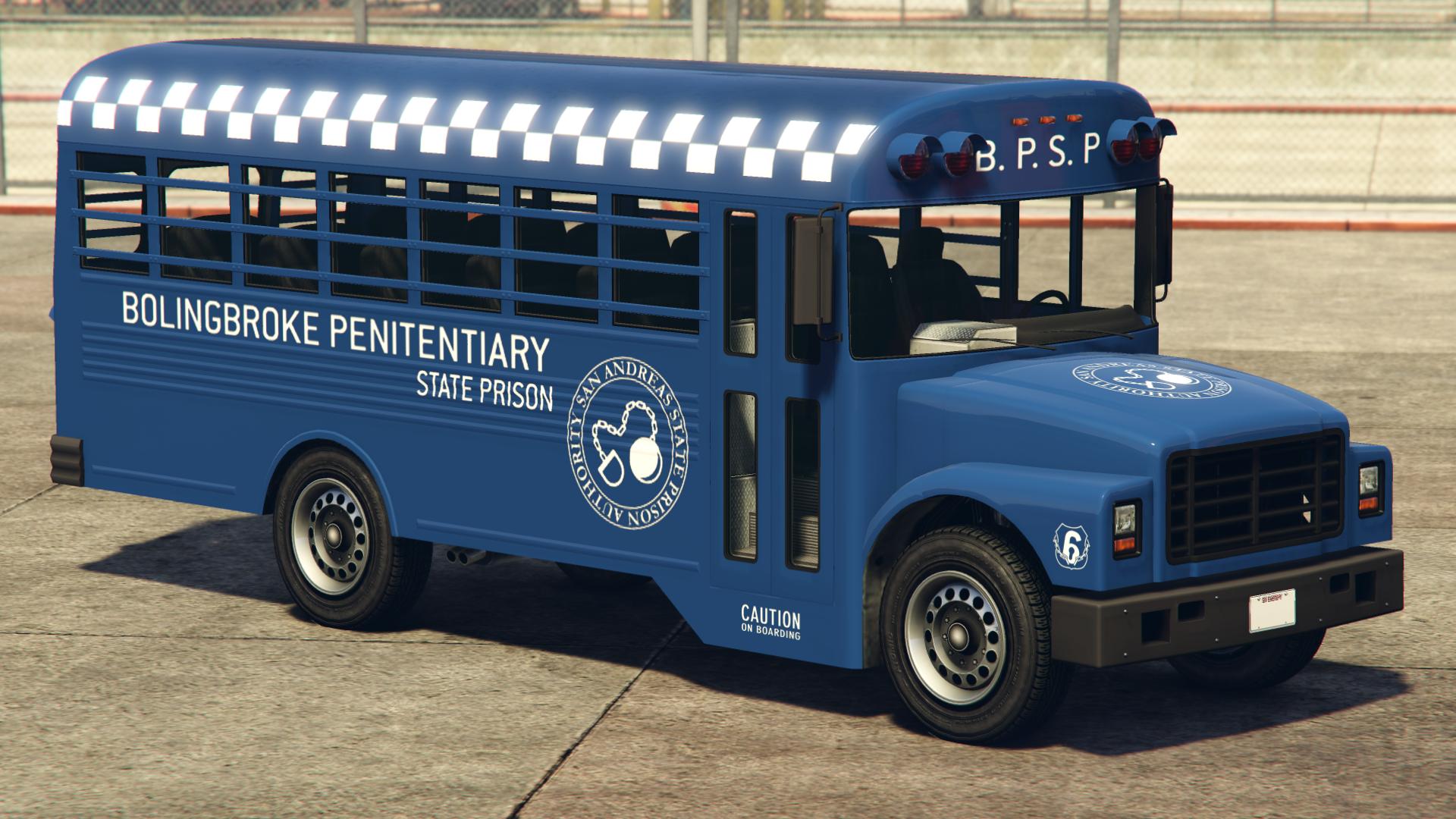 Police Prison Bus | GTA Wiki | FANDOM powered by Wikia