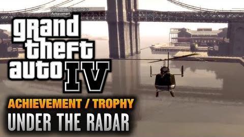 GTA 4 - Under The Radar Achievement Trophy (1080p)