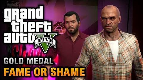 GTA 5 - Mission 22 - Fame or Shame 100% Gold Medal Walkthrough