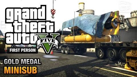 GTA 5 - Mission 29 - Minisub First Person Gold Medal Guide - PS4
