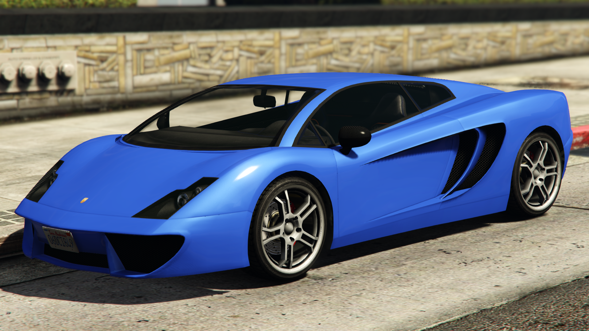 A Vacca In Grand Theft Auto V.(Rear Quarter View)