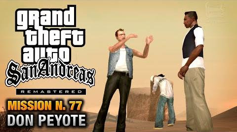 GTA San Andreas Remastered - Mission 77 - Don Peyote (Xbox 360 PS3)