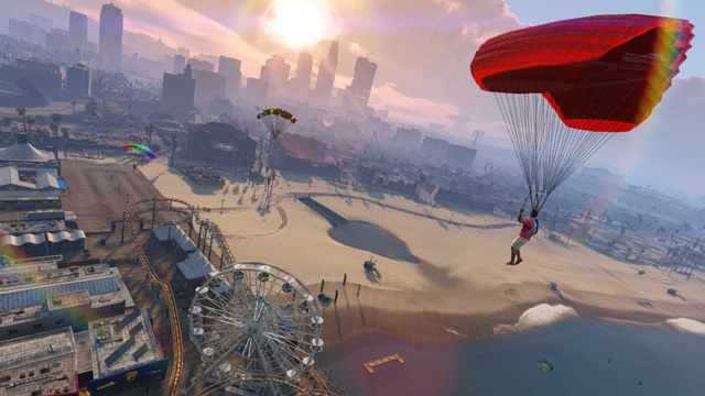 parachutisme gta 5