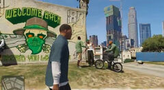 Welcome Back Sign - GTA V