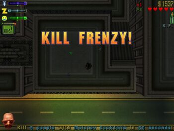 Kill Frenzy (GTA2) (Screen)