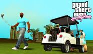 VicPlayingGolf-GTAVCS-Screenshot