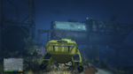 Wreck DelPerro Sub GTAV SubmersibleDocked