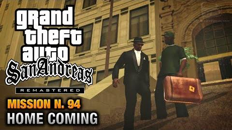 GTA San Andreas Remastered - Mission 94 - Home Coming (Xbox 360 PS3)