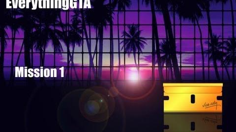 GTA Vice City Mission 1 In The Beginning...