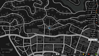 Vehicle Import Parked GTAO Cox Way Map