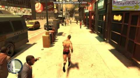 GTA IV Randy Orton Human Pinball