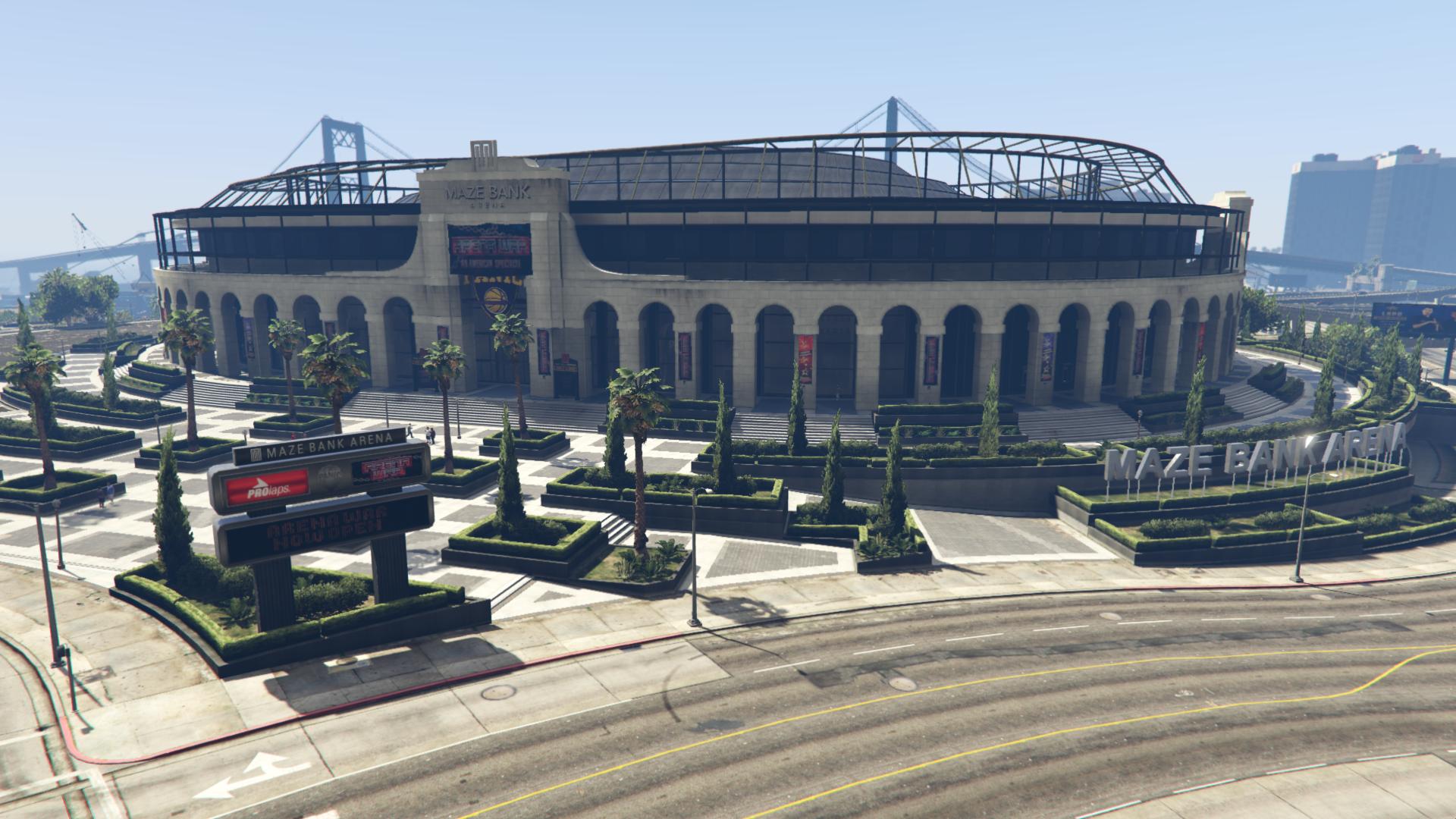 Maze Bank Arena | GTA Wiki | Fandom