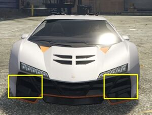 Zentorno GTAVe Missing Aerodynamics