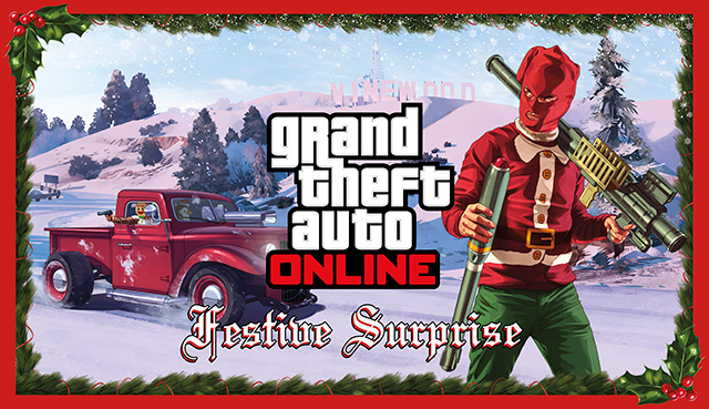 Gta 5 Online Christmas Masks.Festive Surprise Gta Wiki Fandom Powered By Wikia