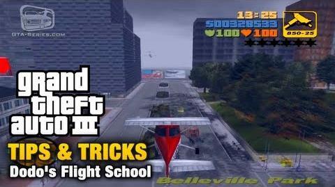 GTA 3 - Tips & Tricks - Dodo's Flight School
