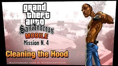 GTA San Andreas - iPad Walkthrough - Mission 4 - Cleaning the Hood (HD)