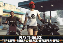 TheSteelHorse&BlackWesternTees-GTAO-Advert