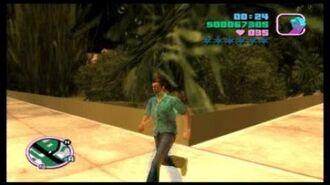 GTA Vice City- The Starfish Island Zip Glitch
