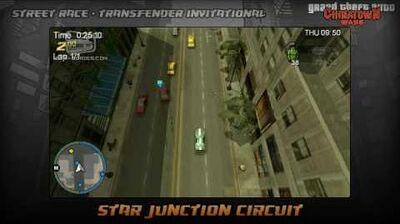 GTA Chinatown Wars - Walkthrough - Street Race - Transfender Invitational - Star Junction Circuit