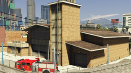 DavisFireStation-GTAV-Rear