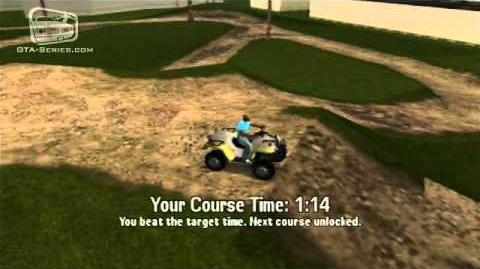 GTA Vice City Stories - Walkthrough - Quad Dirtbike Tracks