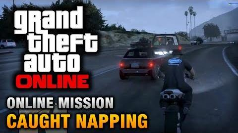 GTA Online - Mission - Caught Napping Hard Difficulty