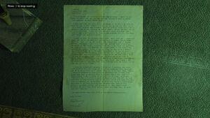 Murder Mystery GTAVe Letter