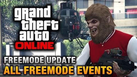 GTA Online - All Freemode Events (Hunt the Beast, King of the Castle, Kill List, etc)