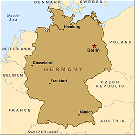 Image Mapgermanypng GTA Wiki FANDOM Powered By Wikia - Germany map view