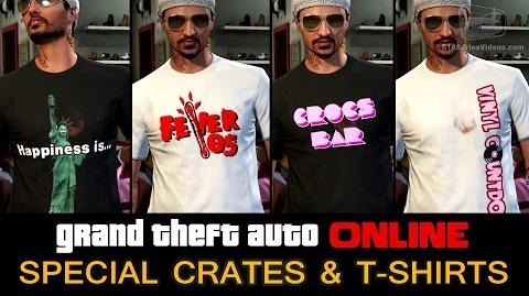 GTA Online - Special Crates and T-Shirts -Invite Only-