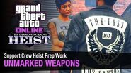GTA Online The Diamond Casino Heist - Heist Prep Unmarked Weapons Solo (Clubhouse)