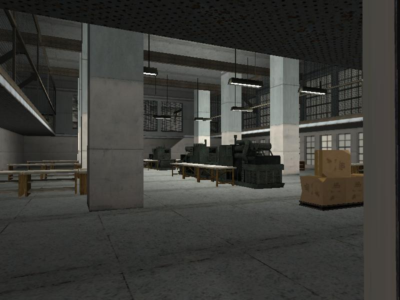 Big Smokeu0027s Crack Palace Floor 2 Drug Lab Area Interior