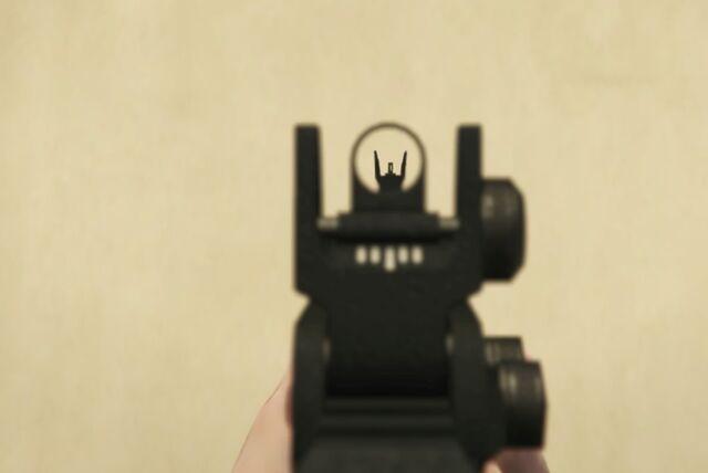File:Bullpup Shotgun GTAVe FPS Iron.jpg