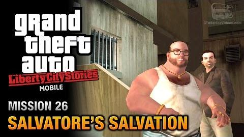 GTA Liberty City Stories Mobile - Mission 26 - Salvatore's Salvation