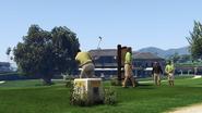 GWCandGolfingSociety-GTAV-Golfers