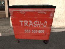 Trash-O Dumpster (GTA SA)