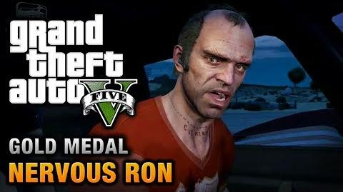 GTA 5 - Mission 19 - Nervous Ron 100% Gold Medal Walkthrough