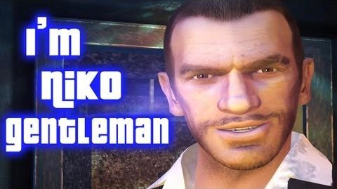 GTA IV - GENTLEMAN (Niko Bellic Version)