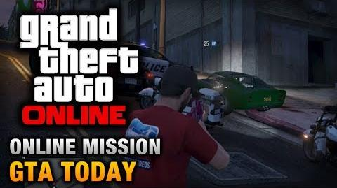 GTA Online - Mission - GTA Today Hard Difficulty