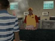 Pizza attender - SA