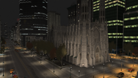 ColumbusCathedral-GTAIV-Night