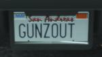 Custom Plate GTAO GUNZ0UT