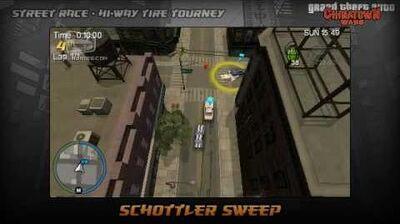 GTA Chinatown Wars - Walkthrough - Street Race - Hi-Way Tire Tourney - Schottler Sweep
