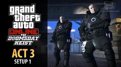 GTA Online Doomsday Heist Act 3 - Setup Rescue Agent 14 (Elite & Mastermind II)