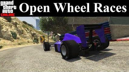 GTA Online Tracks - Open Wheel Races